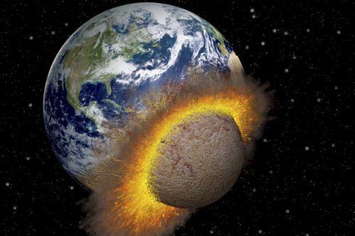 Spazio: la Terra è stata bombardata da piccoli pianeti, la ricostruzione