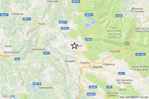 Terremoto, numerose scosse a L'Aquila e Campobasso