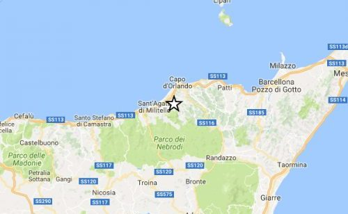 Terremoto in Sicilia: trema la terra in provincia di Messina