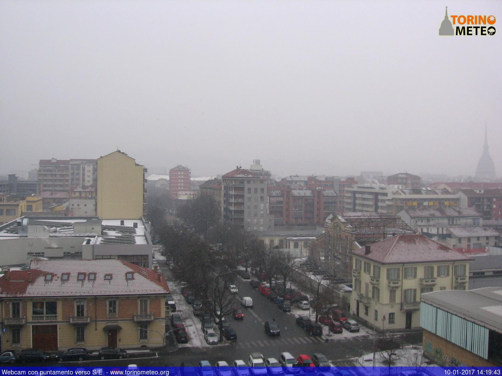 Neve Torino e Piemonte, fiocchi anche in Lombardia e sulle isole della Campania
