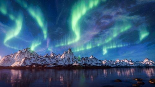 Aurora boreale: nel 2050 potrebbe essere una rarità