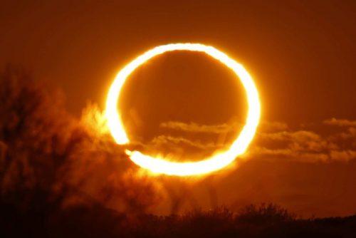 Eclissi solare anulare, lo spettacolo del 26 febbraio