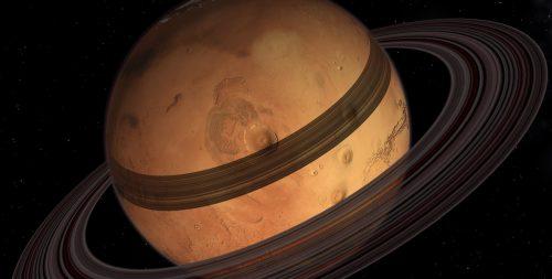 Marte sta già creando i suoi anelli? La nuova teoria degli esperti