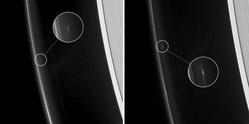 Saturno: Cassini rileva strani oggetti nell'anello F