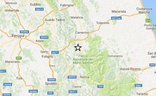 Terremoto Centro Italia: due forti scosse tra Umbria e Marche