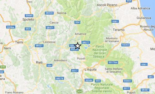 Terremoto L'Aquila: forte scossa di magnitudo 4.0 gradi