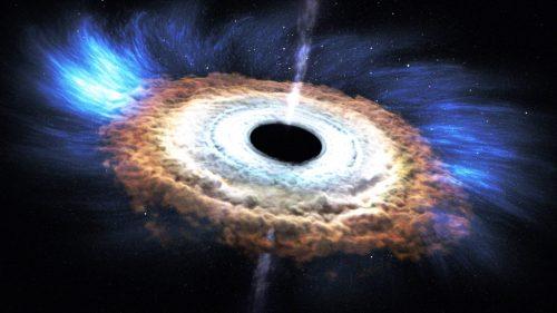 Spazio: un colossale radiotelescopio per fotografare un buco nero