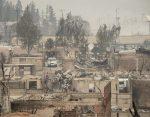 Cile, gli effetti devastanti del maxi incendio: 'Come una bomba atomica'