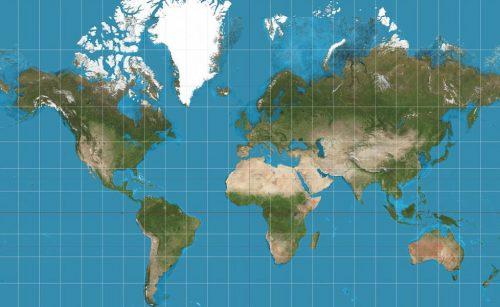 Mappa del mondo: ecco perché la più utilizzata è sbagliata