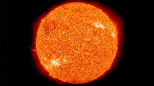 Sole privo di macchie: si va verso il minimo solare