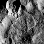 Spazio: la superficie di Cerere si muove, scoperte grandi frane superficiali