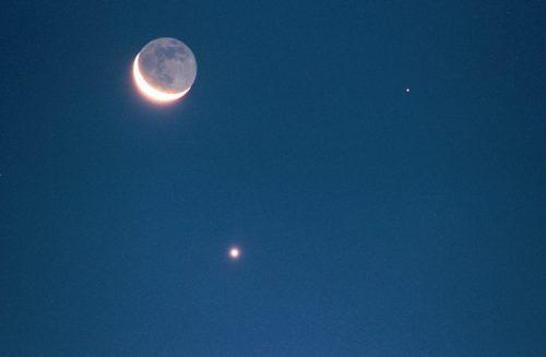 Congiunzione Luna Marte e stelle cadenti Alfa Bootidi: come ammirare lo spettacolo