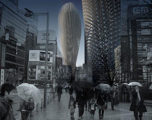 Smog: in arrivo i grattacieli che producono aria pulita