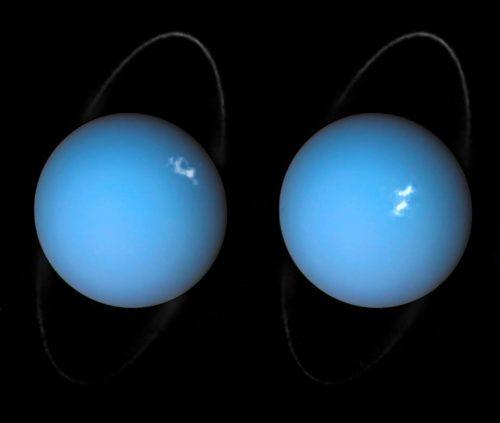 Aurore extraterrestri: le immagini del fenomeno su Urano
