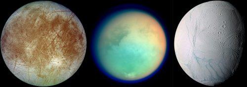 Encelado, Titano ed Europa: i satelliti candidati alla vita extraterrestre
