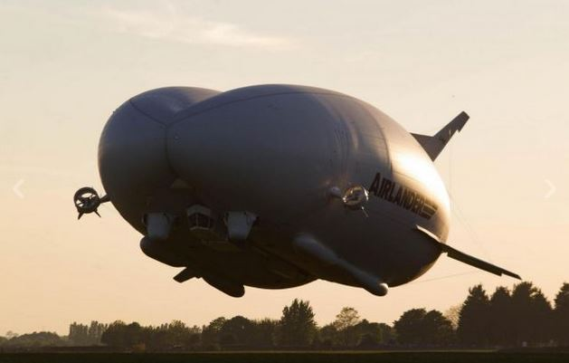 Airlander 10: test positivo per il velivolo più grande del mondo