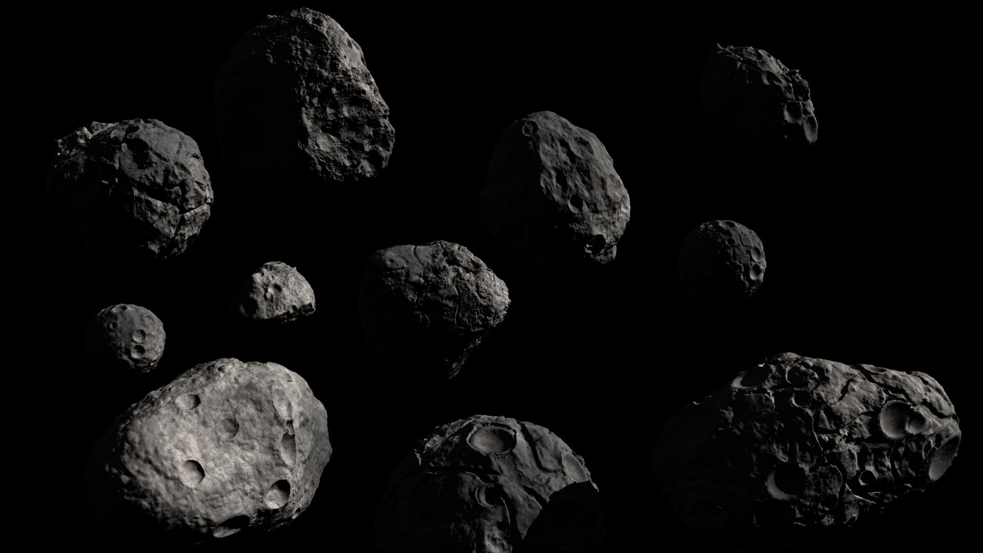 Cinque asteroidi in avvicinamento alla Terra, uno a distanza record