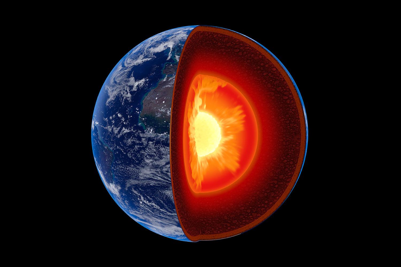 Campo magnetico: enormi bolle di magma all'origine dell'inversione