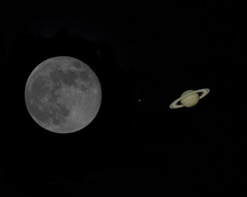 Congiunzione Saturno Luna e stelle cadenti: gli eventi nelle prossime ore