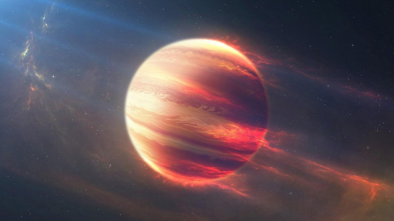 Spazio: scoperto pianeta 'di polistirolo', gonfio e leggero