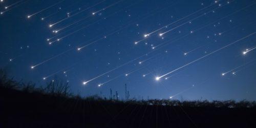 Stelle cadenti: pioggia di meteore e congiunzione nel cielo del week end
