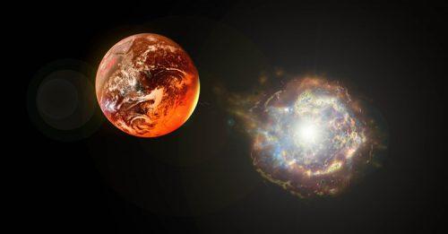 Supernova colpì la Terra da 150 anni luce: la conferma