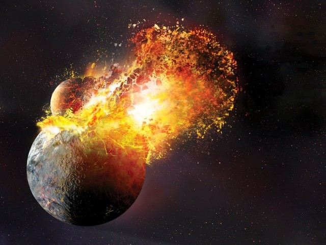 La crosta terrestre è piovuta dal cielo, la scoperta