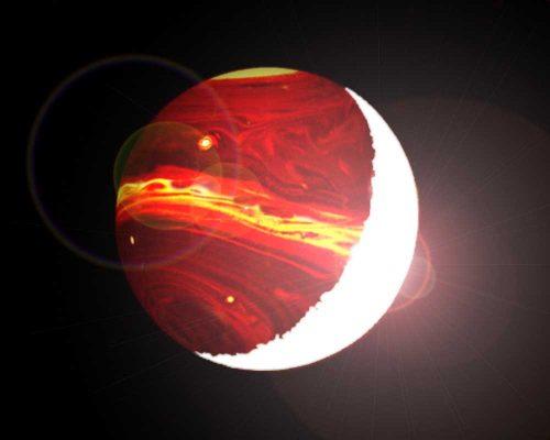 KELT-9b, il pianeta con una temperatura di una stella