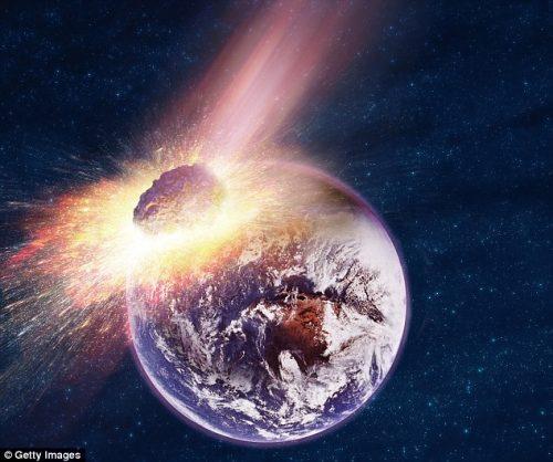 Spazio: quanto deve misurare un meteorite per estinguere l'uomo?