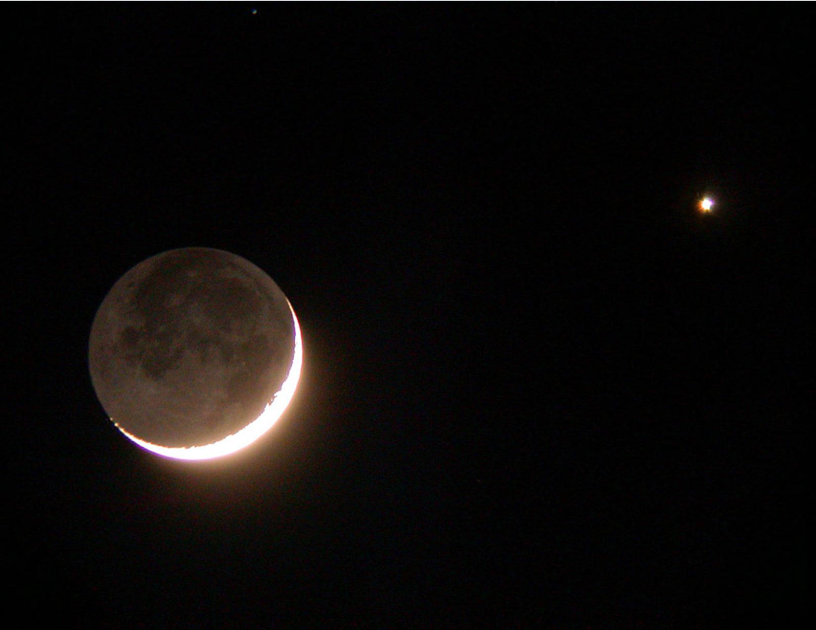 Congiunzione Luna Giove: poche ore allo spettacolo