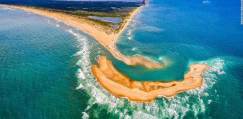 Nuova isola appare in Nuova Carolina: l'origine del fenomeno
