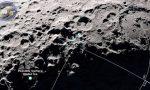 Luna: scoperte tracce di ghiaccio al polo sud
