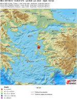 Terremoto Grecia Turchia: fortissima scossa di terremoto a Smirne