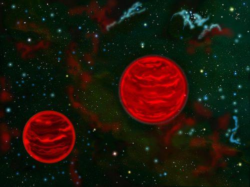 Spazio: scoperta la prima coppia di pianeti vaganti