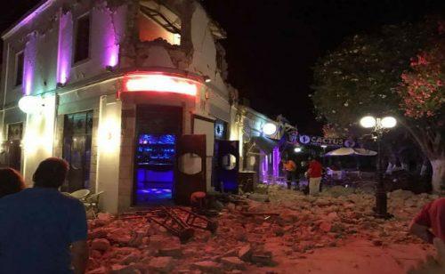 Terremoto Grecia, il bilancio: due morti e crolli sull'isola di Kos