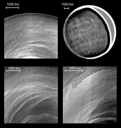 Venere: l'incredibile velocità delle nubi notturne analizzata dagli esperti