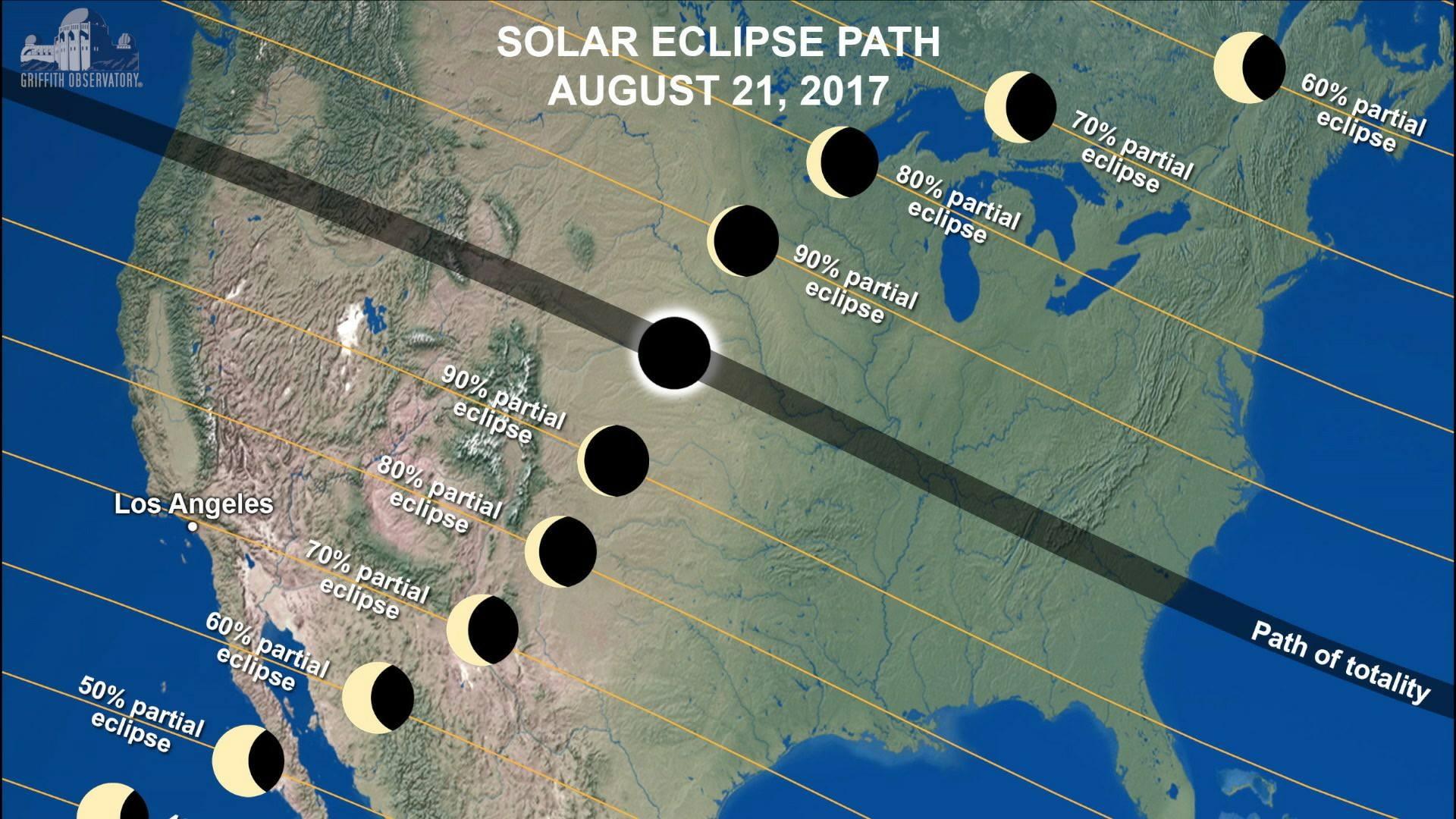 Come vedere l'eclissi di Sole: diretta streaming