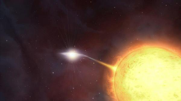 Supernova distrugge stella compagna, il fenomeno osservato 'in diretta'