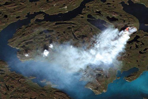 Ambiente: in Groenlandia il più grande incendio di sempre