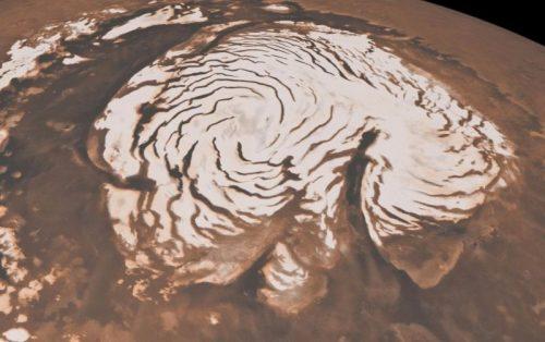 Neve su Marte: gli esperti scoprono come si forma