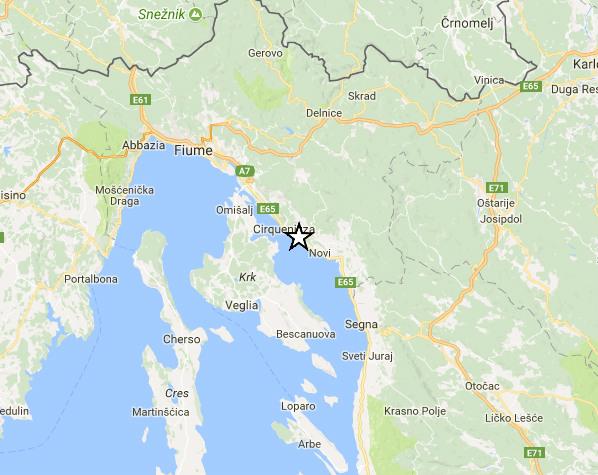 Sciame sismico in Croazia: nuova scossa di terremoto sulla costa