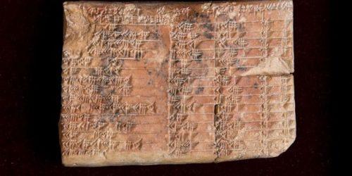 I Babilonesi conoscevano la trigonometria, la scoperta