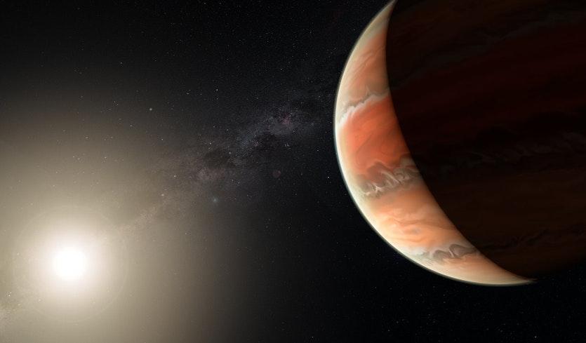 WASP-19b, il pianeta con cieli di titanio