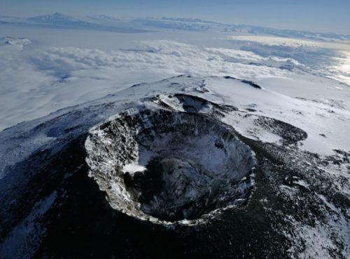 Antartide: forme di vita sconosciuta nelle profondità di un vulcano