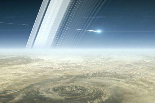 Cassini non esiste più: la sonda si è polverizzata nell'atmosfera di Saturno