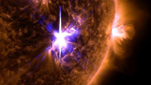 Sole: registrata la più potente eruzione solare dell'ultimo decennio