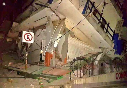 Terremoto Messico: bilancio sale a 61 morti e 200 feriti