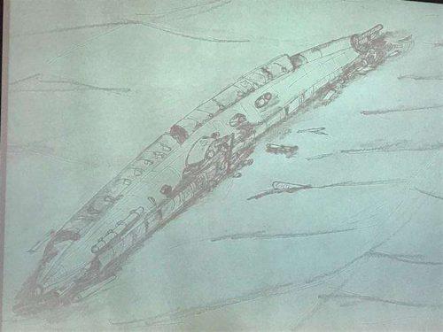 Sottomarino tedesco scoperto nel Mare del Nord con l'equipaggio a bordo