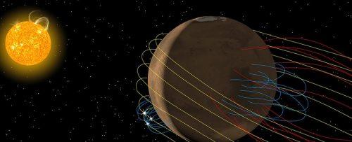 Marte ha una coda magnetica: la scoperta grazie alla sonda Maven