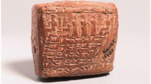 Archeologia: scoperto accordo matrimoniale di 4mila anni fa